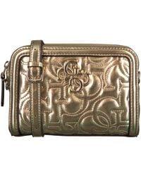 Guess Gouden Heuptas New Wave Convertible Belt Bag - Metallic