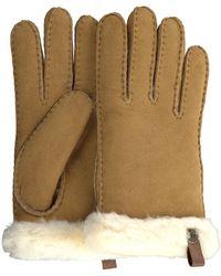 UGG Camel Handschoenen Shorty Glove W/trim - Naturel