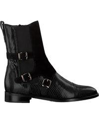 Pertini Zwarte Enkellaarsjes 30060