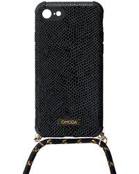 Omoda Schwarze Accessoires Handykette 7/8 Iphone Koord