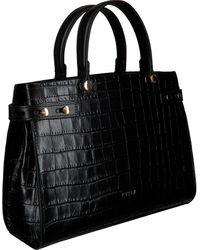 Furla Schwarze Handtasche Lady M M Tote