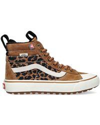 Vans Camel Hoge Sneaker Ua Sk8-hi Dames - Meerkleurig
