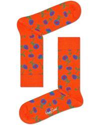Happy Socks Socken Sunflower - Schwarz