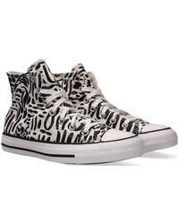 Converse Zwarte Hoge Sneaker Chuck Taylor All Star Hi