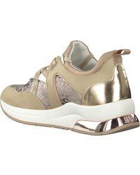 Liu Jo Beige Lage Sneakers Karlie 36 - Naturel