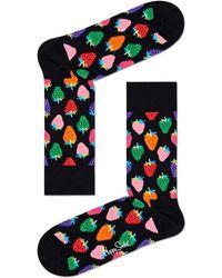 Happy Socks Mehrfarbige/bunte Socken Strawberry
