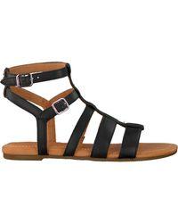 UGG Zwarte Sandalen Mahalla