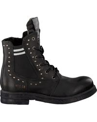 Replay Zwarte Biker Boots Rl260059l Skin