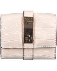 Guess Roze Portemonnee Asher Slg Small Trifold