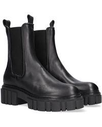 Notre-v Chelsea Boots 03-432 - Schwarz