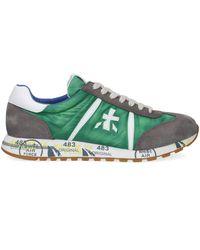 Premiata Groene Sneakers Lucy
