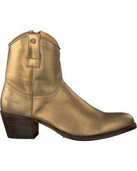 Sendra Gouden Enkellaarsjes 16751 - Metallic