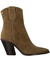 Notre-v - Taupe Stiefeletten Ah42 - Lyst