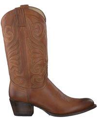 Sendra Cognac Cowboylaarzen 11627 - Bruin