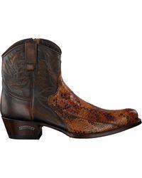 Sendra Cognac Cowboylaarzen 9496 - Bruin