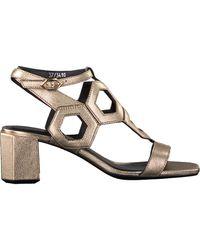 Notre-v Gouden Sandalen Bz0306x - Metallic