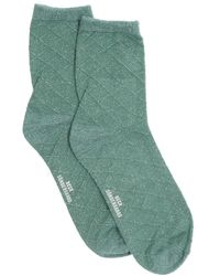 Becksöndergaard Grüne Socken Square Dalea Sock
