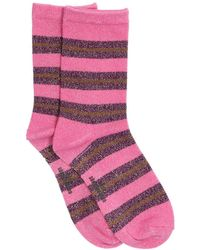 Becksöndergaard Lilane Socken Dalea Big Stripe Sock