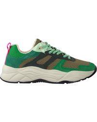 Scotch & Soda Groene Lage Sneakers Celest