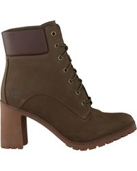 Timberland Grüne Ankle Boots Allington 6in Lace