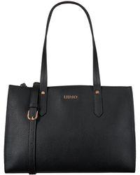 Liu Jo Zwarte Handtas Sola Boston Bag