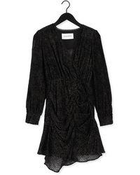 Silvian Heach Zwarte Mini Jurk Dress Toriva