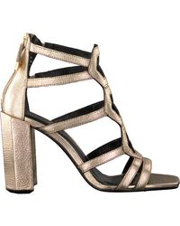 Notre-v Gouden Sandalen Bz0406x - Metallic