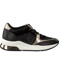 Liu Jo Zwarte Lage Sneakers Karlie 12