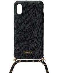 Omoda Schwarze Accessoires Handykette Xs Iphone Koord