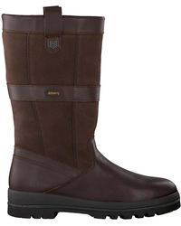 Dubarry Graue Hohe Stiefel 3942 - Braun