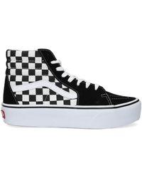 Vans Zwarte Sneakers Sk8 Hi Platform 2.0