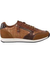 Mexx Cognac Lage Sneakers Federica - Bruin