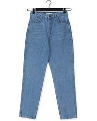Gestuz Blauwe Mom Jeans Denagz Mom Jeans