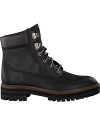 Timberland Zwarte Veterboots London Square 6in Boot