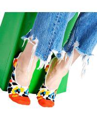 Happy Socks - Mehrfarbige/bunte Socken Liner - Lyst