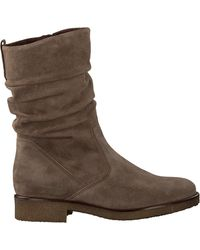 Gabor - Taupe Hohe Stiefel 703 - Lyst