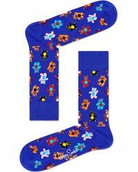 Happy Socks Blaue Socken Teddybear