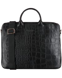 MYOMY Zwarte Laptoptas My Philip Bag Laptop