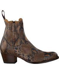 Sendra Cognac Cowboylaarzen 16151 - Bruin