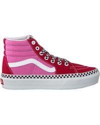 Vans Roze Hoge Sneaker Ua Sk8-hi Platform 2.0