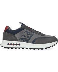 Napapijri Grijze Lage Sneakers Slate - Grijs