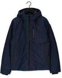 PME LEGEND Veste Matelassé Short Jacket Nextshell Recycle - Bleu