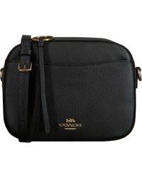COACH Schwarze Umhängetasche Camera Bag