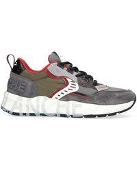 Voile Blanche Grijze Lage Sneakers Club01 - Grijs