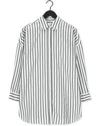 SELECTED Witte Blouse Slfphoenix Ls Long Shirt W - Meerkleurig