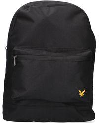 Lyle & Scott Zwarte Rugtas Backpack