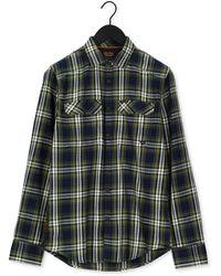 PME LEGEND Casual-oberhemd Long Sleeve Shirt Twill Check - Mehrfarbig