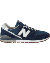 New Balance Blauwe Lage Sneakers Cm996