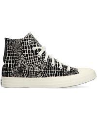 Converse Zwarte Hoge Sneaker Chuck Taylor All Star Croc Hi