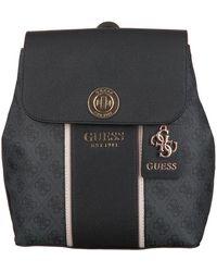 Guess Grijze Rugtas Cathleen Backpack - Zwart